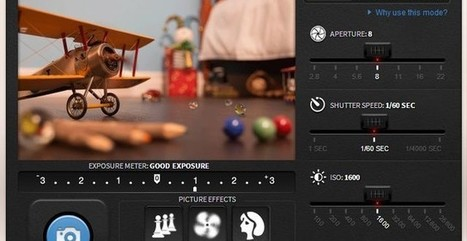 Simulador fotográfico de Canon para practicar fotografía | Tic, Tac... y un poquito más | Scoop.it