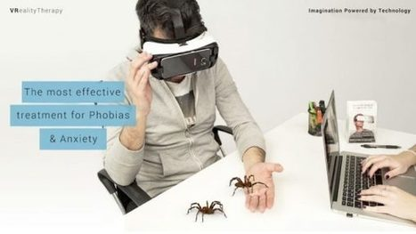 Samsung VR Experiment: Samsung Trials a Spider Therapy App on Three Volunteers | BT | Scoop.it