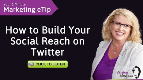 Marketing eTip: Building Your Social Reach on Twitter | Social Media | Scoop.it