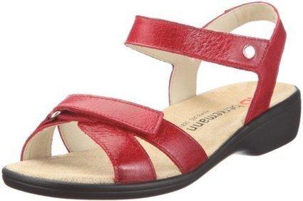 %%%   Berkemann Venedig Rosa 02303-201, Damen Sandalen/Fashion-Sandalen, Rot  (rot 201), EU 38 2/3  (UK 5.5) | sandalen damen günstig | Scoop.it