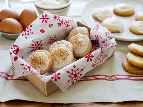 Butter Cookies with Eggnog Cream Cheese Icing | Mangiare diverso | Scoop.it