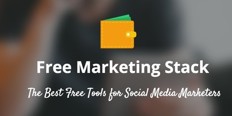 15 of the Best Free Marketing Tools for Startups | Buffer | Public Relations & Social Media Insight | Scoop.it