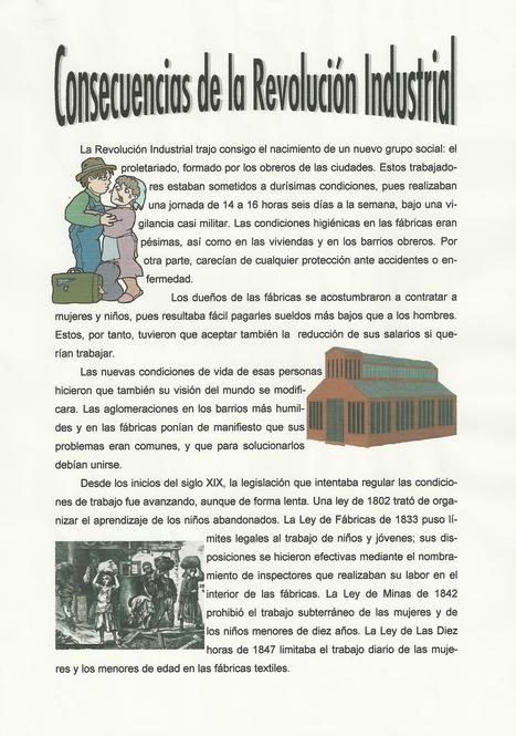 Consecuencias Revolución Industrial | Ainhoa Revolución Industrial | Scoop.it