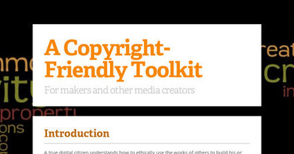 A Copyright-Friendly Toolkit | Library learning centre builds lifelong learners. | Scoop.it