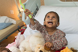 Smile from Gaza angel that says thank you for life-saving heart op | World-class Arterial Switch Operation Surgery in Bangalore, India | Scoop.it