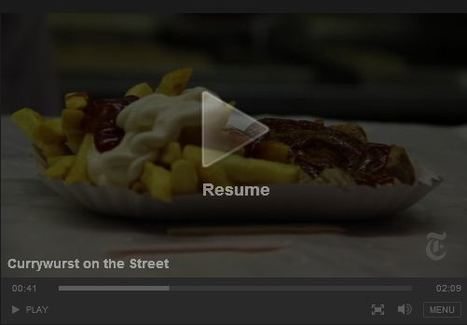 Currywurst on the Street | Geography Education | Scoop.it