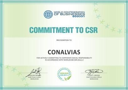 Conalvias recibe reconocimiento de Andesco   Conalvías   Scoop.it