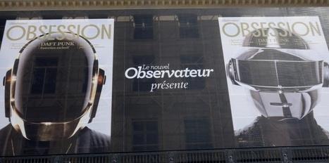 Daft Punk s'offre la façade du Nouvel Observateur | Daft Punk France Columbia | Scoop.it