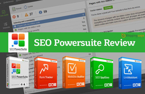 SEO Powersuite Review: A Complete SEO Solution   Blogging, SEO, WordPress   Scoop.it