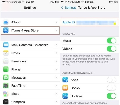 How to Change an Apple ID on iOS 8 for iPhone / iPad | Latest Tech & iOS Gadgets Updates | Scoop.it