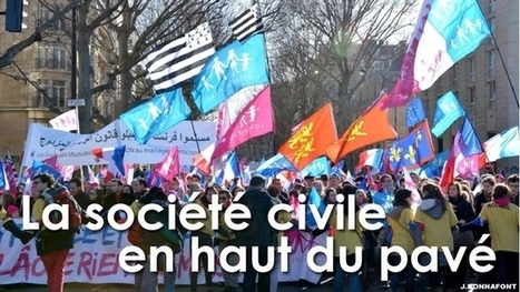 Manif pour tous : la société civile tient le haut du pavé - Décryptage - Actualité - Liberté Politique   Politique & Bien commun   Scoop.it
