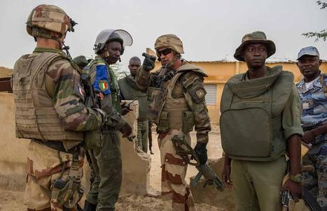 MMali - Militaires français, maliens et tchadiens face à une guérilla... | GUERRE AU MALI - FRENCH MILITARY OPERATIONS IN MALI | Scoop.it
