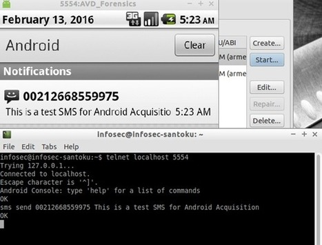"Android Forensic Logical Acquisition - InfoSec Resources | ""Computação Forense"" 