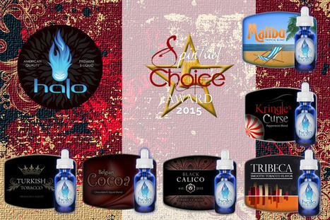 Halo takes home four Spinfuel Choice Awards for new high-VG line. | E-Liquid | Halo Cigs | Scoop.it