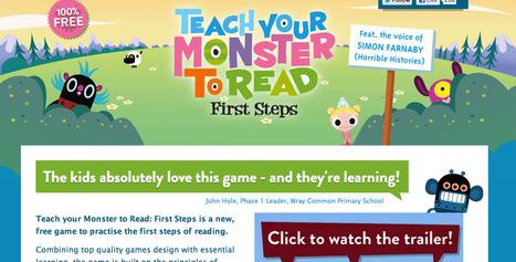 Teach Your Monster to Read | Homeschooling | Scoop.it
