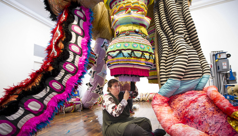 Joana Vasconcelos on Representing Portugal in Venice and Not Being Decorative | Zarpante | Scoop.it