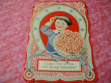 Vintage Horseshoe Valentine Greeting Card (1920's) | 1920's stuff, stuff, and maybe some more stuff. | Scoop.it