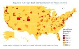 America's most densely-packed startup scenes aren't just in Northern California | Entrepreneurship in the World | Scoop.it