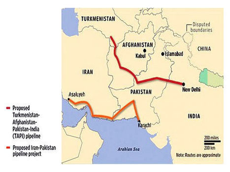 Pakistan-Iran gas pipeline receives go-ahead despite objections from Washington | From Tahrir Square | Scoop.it