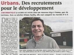 Urbans, entreprise dynamique selon Le Journal Des Entreprises | Urbans Facility | Scoop.it