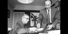 Décès de Robert Gallimard, l'homme qui parlait à l'oreille de Sartre | BiblioLivre | Scoop.it