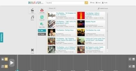 Weavly, crea vídeo mashups o GIF animados con contenido de Youtube, Vine, Tumblr, SoundCloud y otras fuentes   Información sobre WEB 2.0   Scoop.it