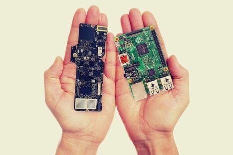 What's smaller, the MacBook's logic board, or the Raspberry Pi? The answer will surprise you | Raspberry Pi | Scoop.it