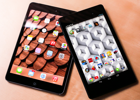 Apple iPad Mini Retina vs. the new Google Nexus 7 - CNET | Web | Scoop.it
