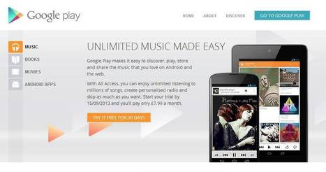Google enters the music streaming arena with 'All Access' | Google Information | Scoop.it