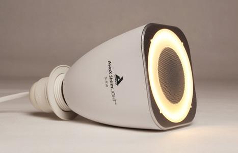 Une ampoule musicale pour votre smartphone - Mais à quoi peut bien servir un tel objet?   Produit du mois   Scoop.it