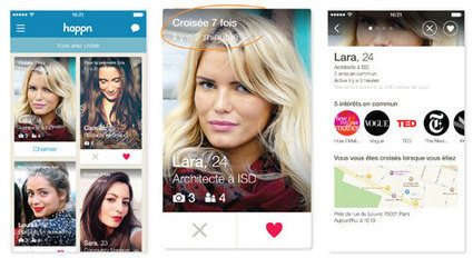 Happn : une application qui réinvente la rencontre [Interview] | Going social | Scoop.it