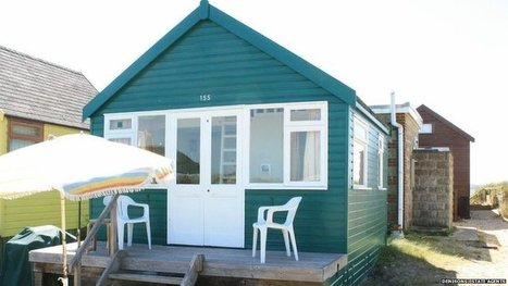 Beach hut on market for £225,000 | The Global Village | Scoop.it