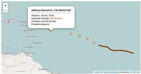 Track Hurricane Danny (Interactively) with R + leaflet | R for Journalists | Scoop.it