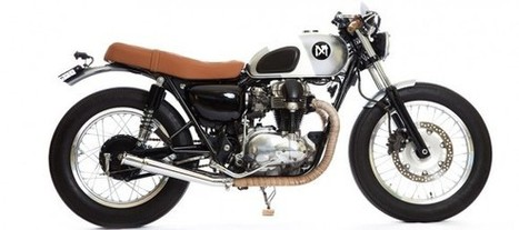 Custom Kawasaki W650 by Maria Motorcycles / Hurricane Jane | Simple Pleasures | Scoop.it