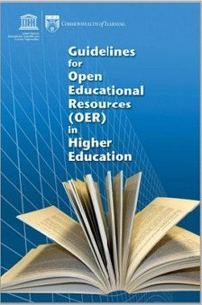 UNESCO >Guidelines for Open Educational Resources (OER) in Higher Education | The Information Specialist's Scoop | Scoop.it