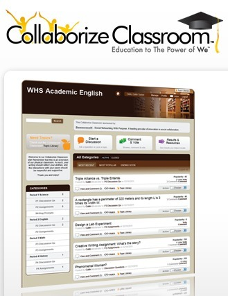 Collaborize Classroom | Online Education Technology for Teachers and Students | eLearning and Blended Learning in Higher Education | Scoop.it