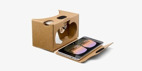 Le Google Cardboard arrive en France | Presse-Citron | Digital News in France | Scoop.it
