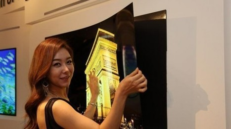 LG unveils OLED TV so thin that it attaches to the wall with magnets | News | Geek.com | Innovative Marketing and Crowdfunding | Scoop.it