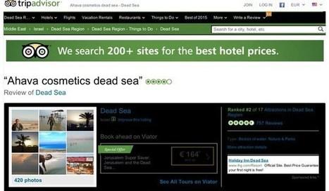 TripAdvisor censors complaints about hotels in Israel's settlements - Intifada Palestine | U.S. Politics | Scoop.it