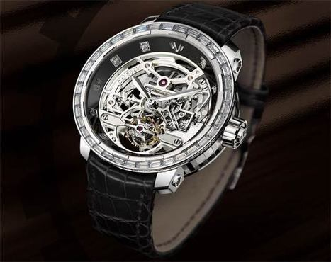 DeWitt Twenty-8-Eight High Jewellery Skeleton Tourbillon | Luxurious Magazine | ONLY WATCH | Scoop.it
