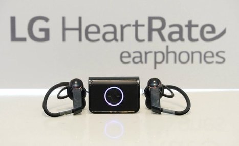 LG beats Apple to market with heart monitoring earphones | Digital Health and Care | Scoop.it