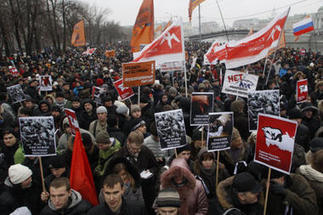 Russia protests: Moscow rocked by biggest since fall of USSR | Coveting Freedom | Scoop.it