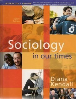 Testbank for Sociology in Our Times 8th Edition by Kendall ISBN 0495905097 9780495905097 | Test Bank Online | Test Bank Online Pdf Download | Scoop.it