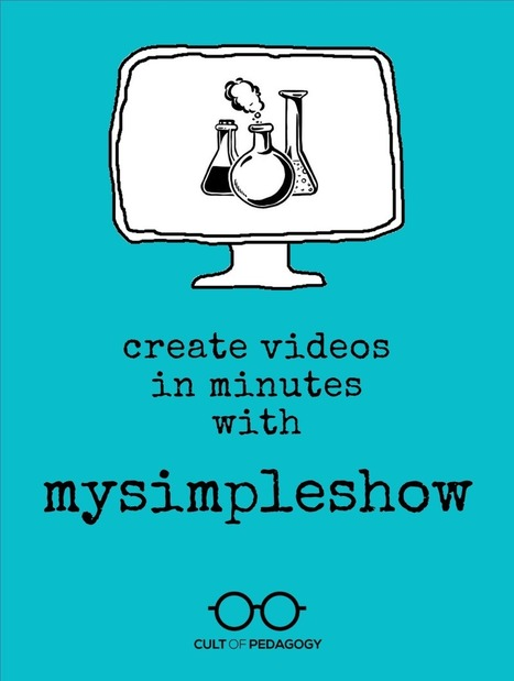 Create Videos in Minutes with Mysimpleshow :: Cult of Pedagogy   Into the Driver's Seat   Scoop.it