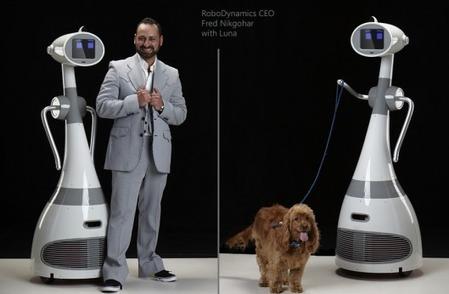Robodynamics' Luna personal robot hits Kickstarter   Embodied Zeitgeist   Scoop.it