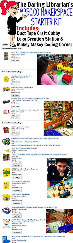Makerspace Starter Kit @GwynethJones | PBL | Scoop.it