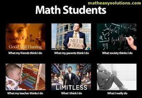 Math Students | What I really do | Scoop.it