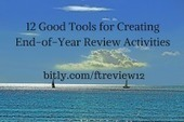 Free Technology for Teachers: 12 Good Tools for Creating End-of-Year Review Activities ~ by Richard Byrne | Into the Driver's Seat | Scoop.it