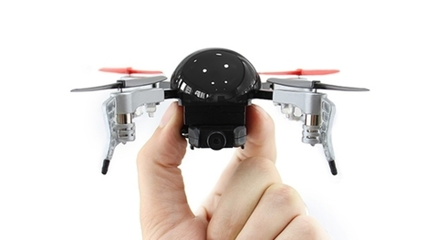A Pocket-Size, Totally Loaded Drone—for Just $125! | TechNFO | Scoop.it