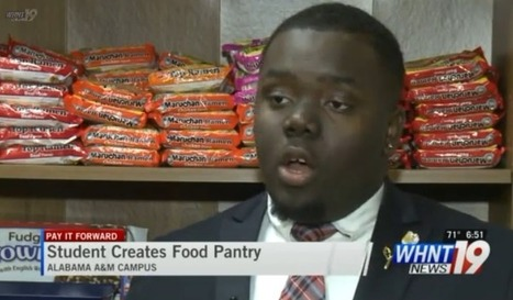 Alabama A&M Student Starts Food Pantry In His Dorm To Help Struggling Classmates | African American Women and Men | Scoop.it